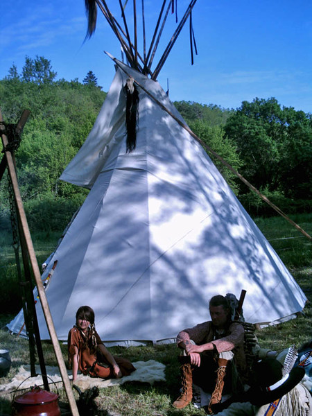 Association Good River Location Tipi Vienne