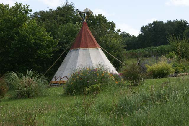 Le refuge du clos du moulin Location Tipi Eure
